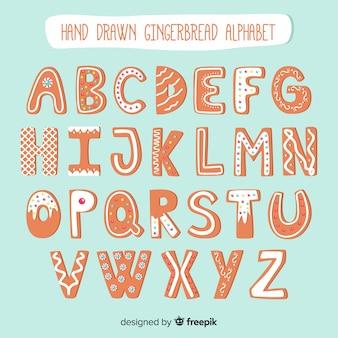 Lebkuchen-alphabet