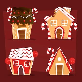 Lebkuchenhaus weihnachtskollektion