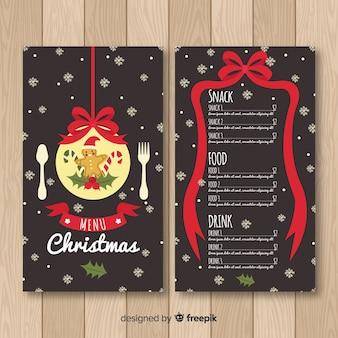 Lebkuchenmann weihnachtsmenü