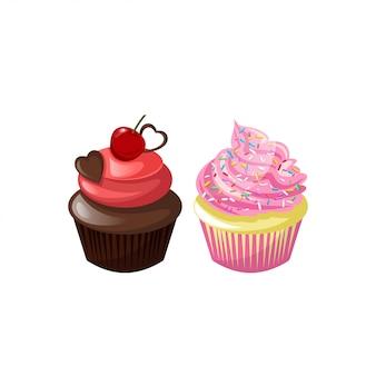 Leckere cupcakes