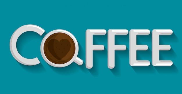 Leckere kaffeetasse-symbol