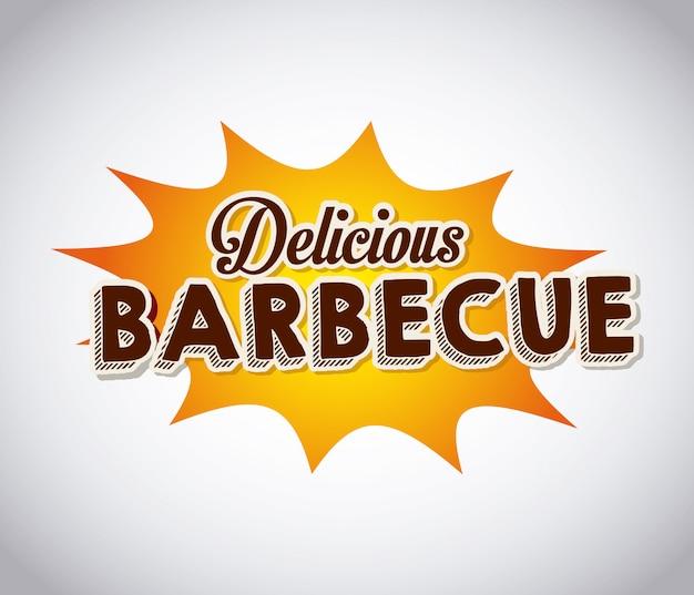Leckeres barbecue-barbecue