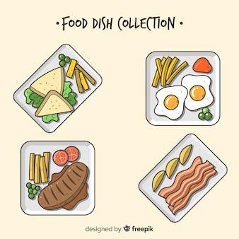 Leckeres essen gerichtssammlung