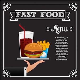 Leckeres fast food