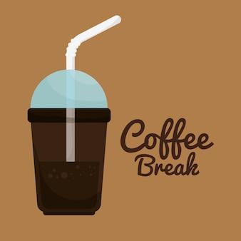 Leckeres kaffeepause-design