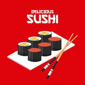 Leckeres sushi