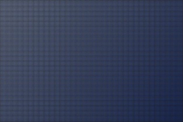 Led bildschirm. punkt-rgb-hintergrundfernsehen. vektorgrafik auf lager.