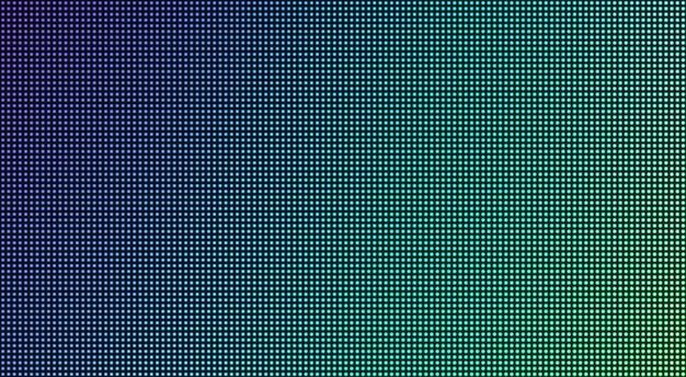 Led-bildschirm textur. pixel digitalanzeige. illustration