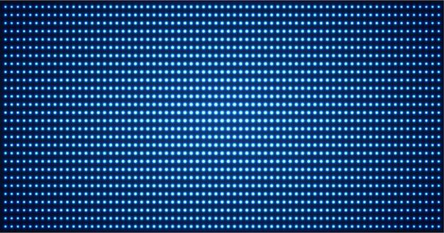 Led-kinoleinwand für filmpräsentation. heller abstrakter technologiehintergrund