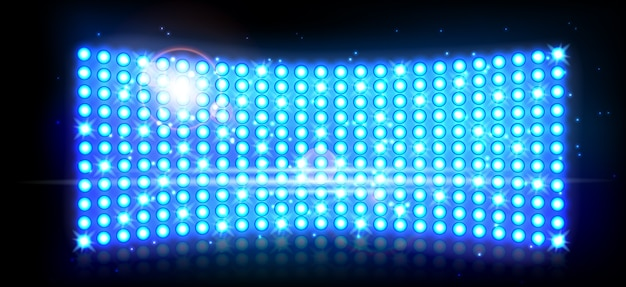 Led-projektionsfläche