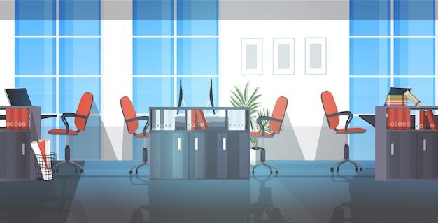 Leer keine menschen coworking center moderne open space office innenskizze