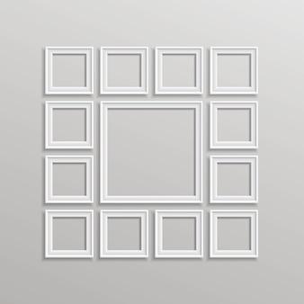 Leere bilderrahmen-vorlagenzusammensetzung