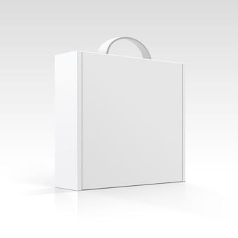 Leere box mit griff