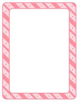 Leere diagonale streifen-rahmen-banner-vorlage