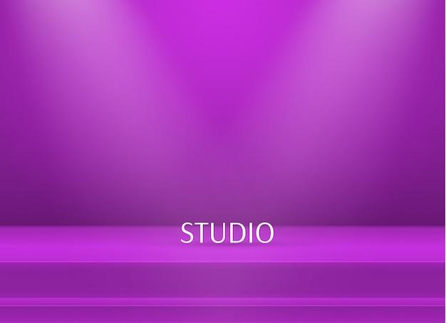 Leere helle farbe studiotabellenhintergrund