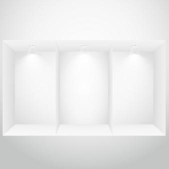 Leere schaufenster