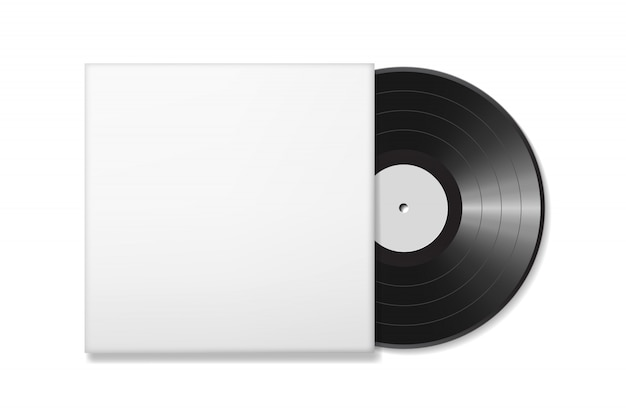 Leere vinyl-disc