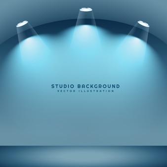 Leeren studio-hintergrund