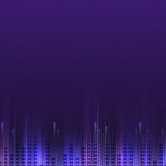 Leerer purpurroter kopierter hintergrundvektor
