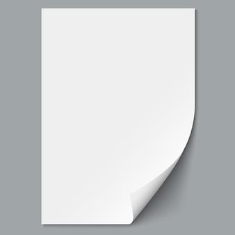 Leeres blatt papier