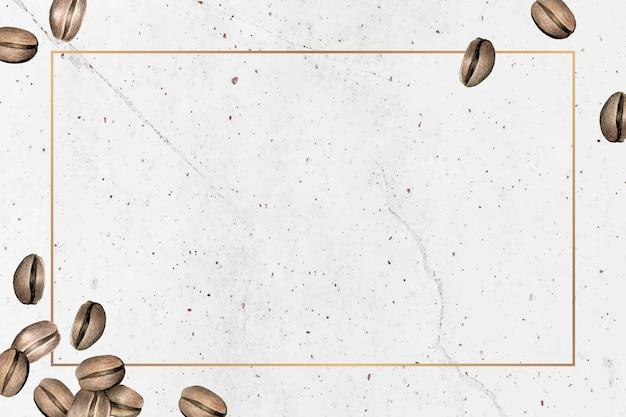 Leeres kaffeetag-hintergrunddesign