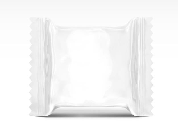 Leeres snack-verpackungsdesign