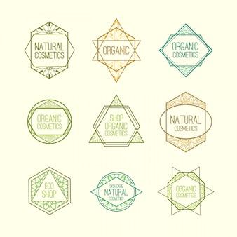 Legen sie minimalistische logos fest