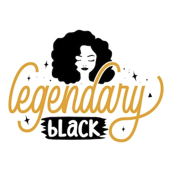 Legendäre schwarze typografie premium-vektor-t-shirt-design-zitat-vorlage