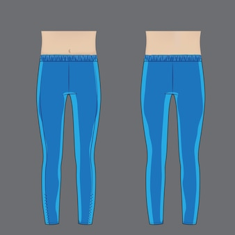 Legging modedesign