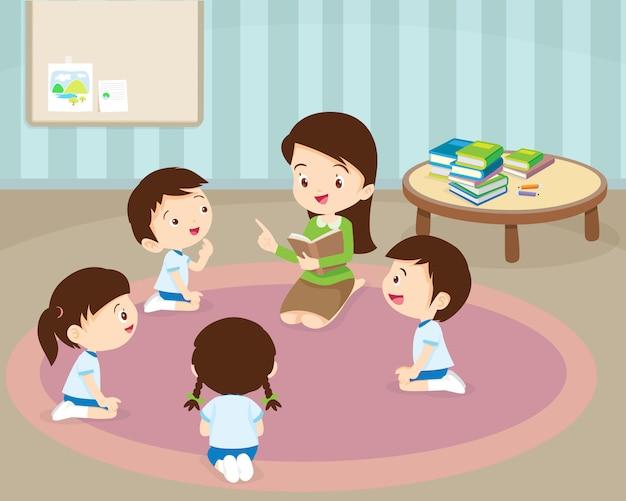 Lehrerlesung für schüler