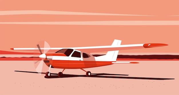 Leichte einmotorige flugzeuge