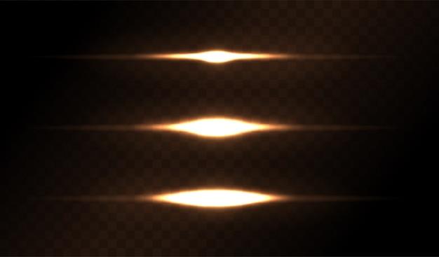 Lens flare-sets