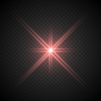 Lense flare lichteffekt
