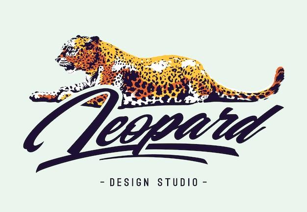 Leoparden-design