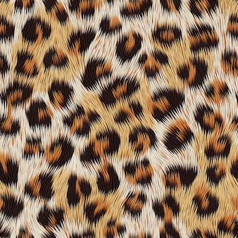 Leopardenfelldruck