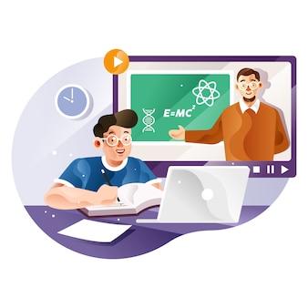 Lernen sie online mit lehrern von zu hause aus