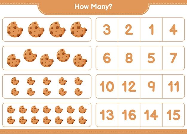 Lernspiel zählen cookies