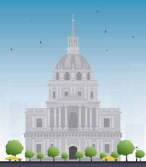 Les invalides krankenhaus und kapelle kuppel