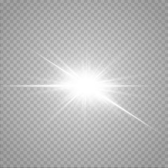 Leuchtende sterne isoliert