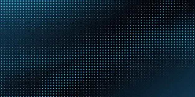 Leuchtender blauer halbtonmusterhintergrund