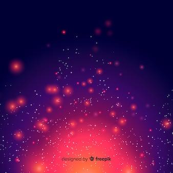 Leuchtender hintergrund