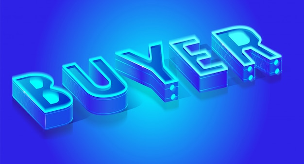 Leuchtstoff blauer neonwort käufer