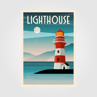 Leuchtturm illustration design
