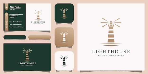 Leuchtturm, leuchtfeuer-logo
