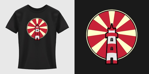 Leuchtturm t-shirt design