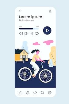 Leute, die draußen fahrrad fahren.
