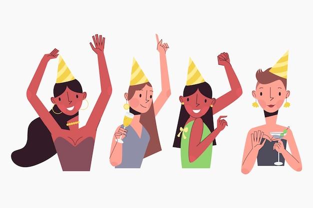 Leute, die zusammen feiern