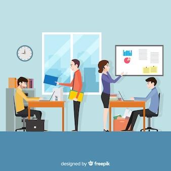 Leute im büro