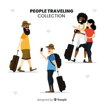 Leute reisen