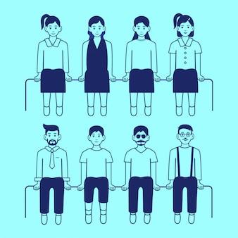 Leute-vektor